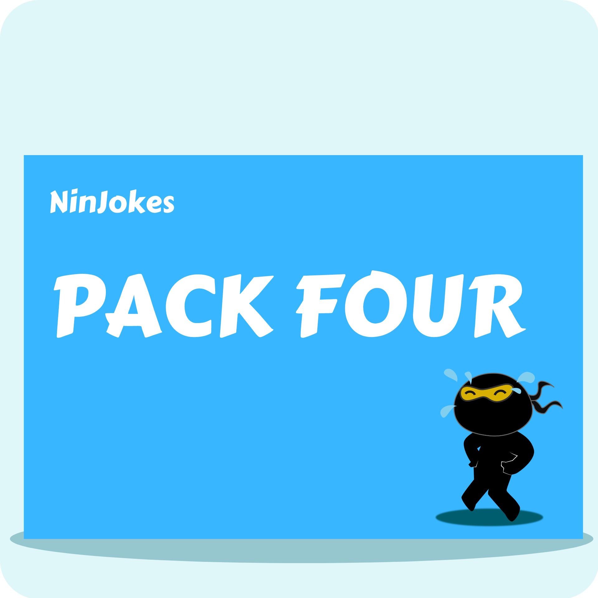NinJokes Pack Four