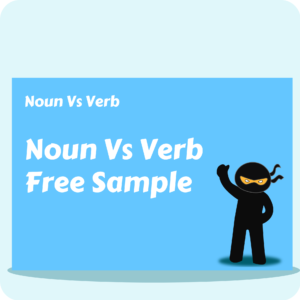 Noun Vs Verb - Free Sample