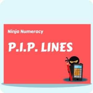 Ninja Numeracy - P.I.P. Lines