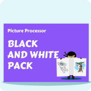 Picture Processor - Black and White Pack