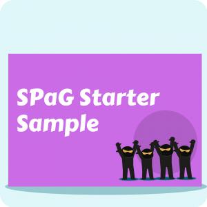 SPaG Starter Sample