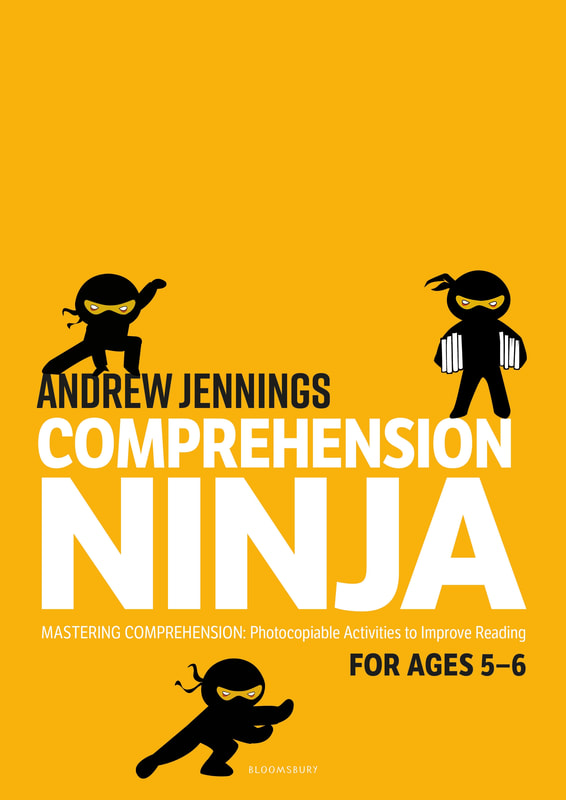 Comprehension Ninja Books - Ages 5-6