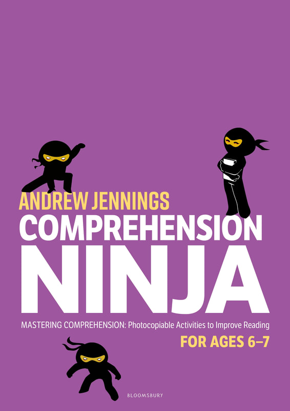 Comprehension Ninja Books - Ages 6-7