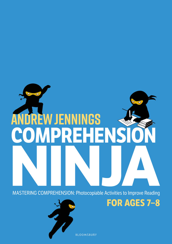 Comprehension Ninja Books - Ages 7-8