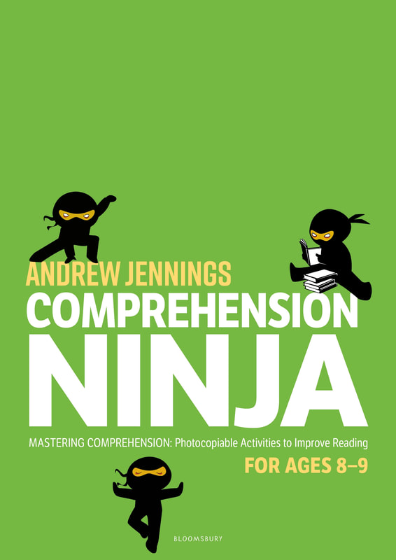 Comprehension Ninja Books - Ages 8-9