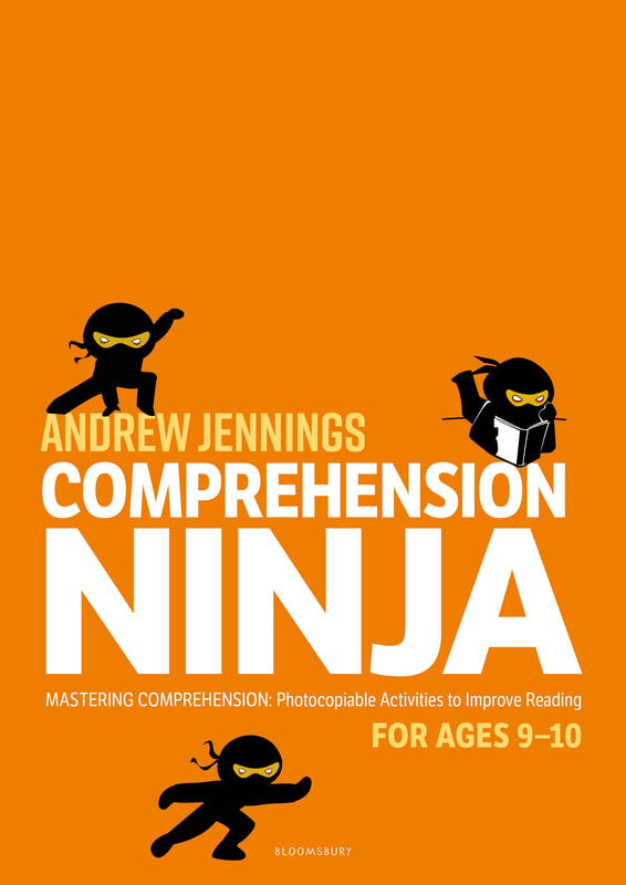 Comprehension Ninja Books - Ages 9-10