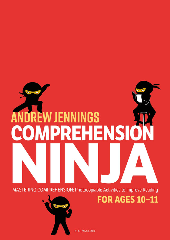 Comprehension Ninja Books - Ages 10-11