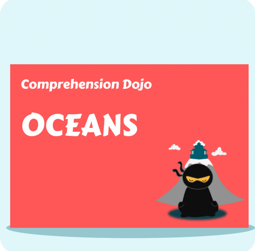 Comprehension Dojo - Oceans