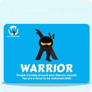 Warrior Printable Stickers
