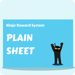 Ninja Reward System - Plain Sheet