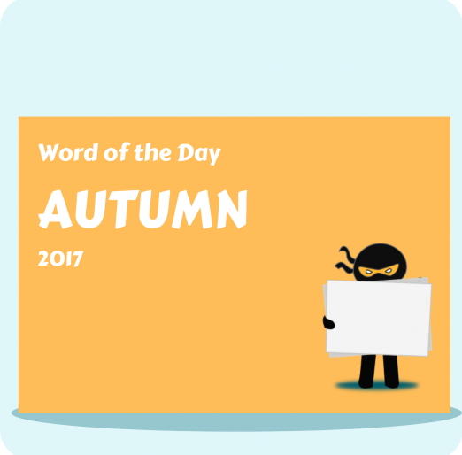 Word of the Day Autumn 2017