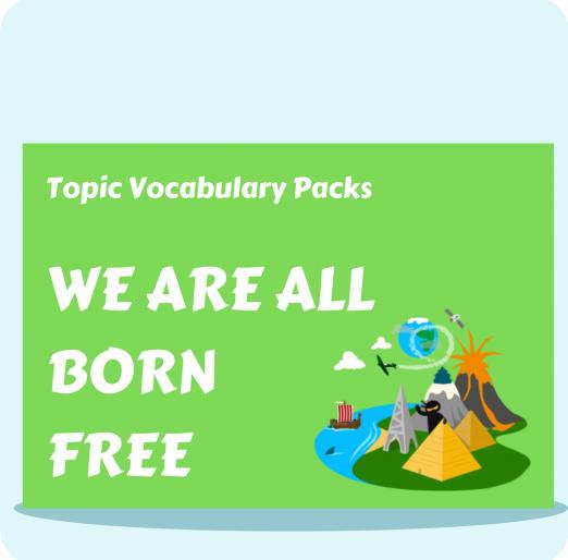 Topic Vocabulary Packs (27)