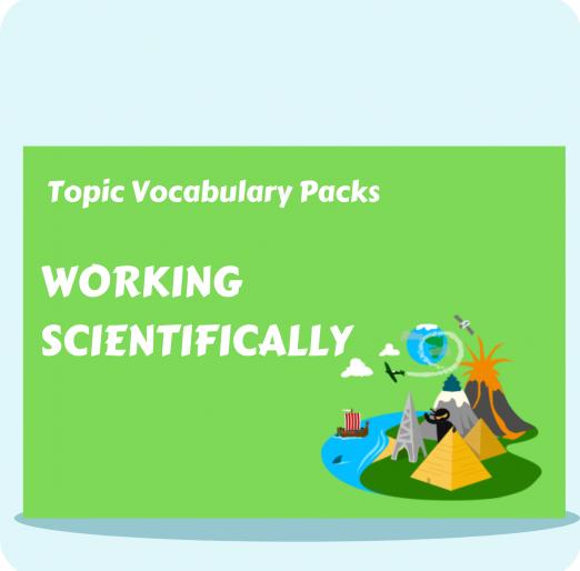 Topic Vocabulary Packs (28)