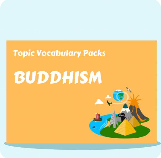 Topic Vocabulary Packs (3)