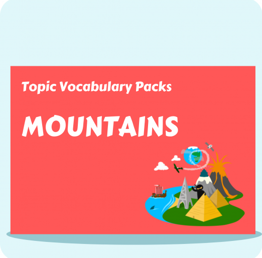 Topic Vocabulary Packs (33)