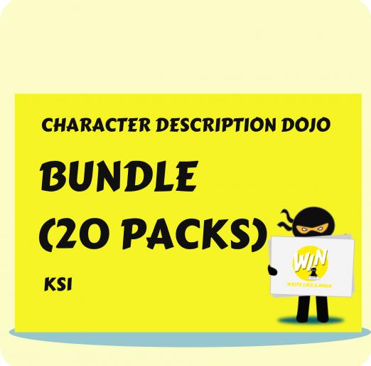 Character Description Dojo KS1