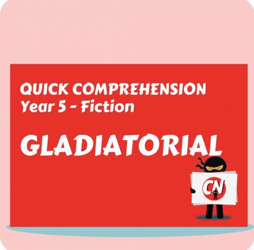 Quick Comprehension - Fiction (2)